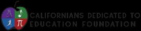 Californians Dedicated to Education Foundation Logo